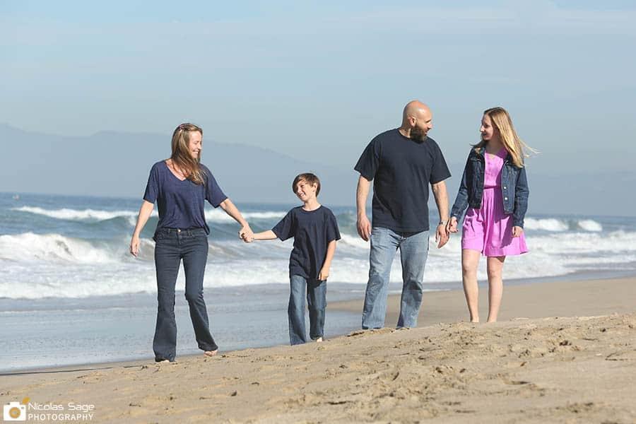 Manhattan Beach Photographer family portraits