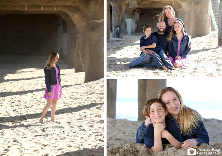 manhattan beach photographer family portrait