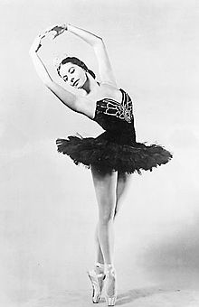 Alicia Alonso as Giselle, 1955