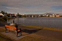Kicking back in Reykjavik