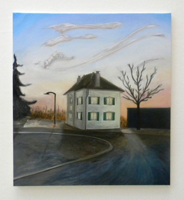 art-painting-house-at-the-end-of-the-road (588x640)