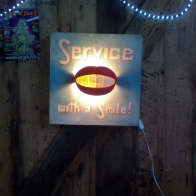 Service with a Smile (Sign)