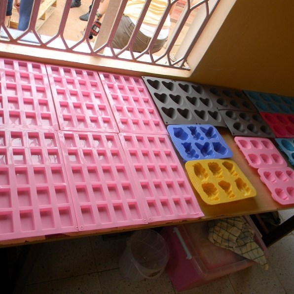 The soap molds