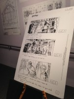 Illustrated scene boards