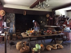 Hearth cooking at Landis Valley (October 2015)