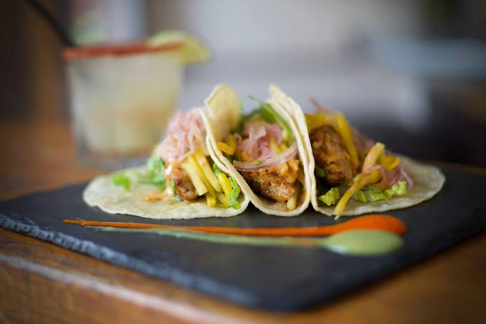 Fish Tacos from Agave West Village