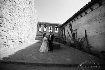 Franciscan Garden Weddings san Juan Capistrano photo by Nicole Caldwell Studio 01048