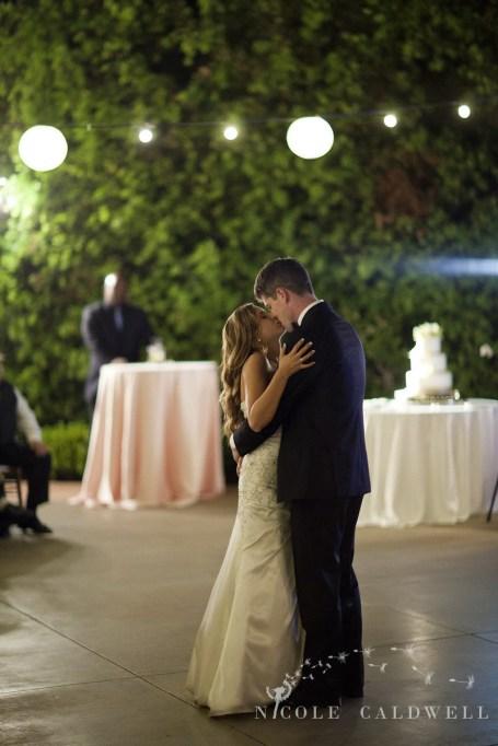 Franciscan Garden Weddings san Juan Capistrano photo by Nicole Caldwell Studio 01090