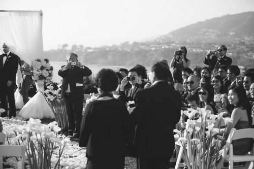 ceremony ritz carlton resort laguna niguel wedding