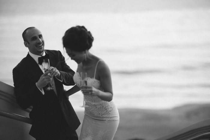 wedding ritz carlton laguna niguel formal couple