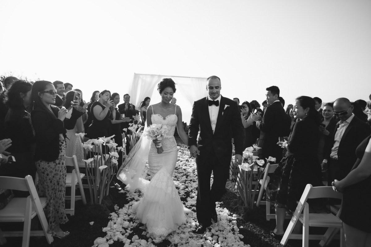 wedding ceremony ritz carlton laguna niguel