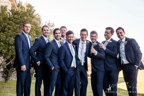 groomsmen temecula creek inn wedding stone house bride