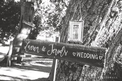 temecula creek inn wedding stone house wedding sign