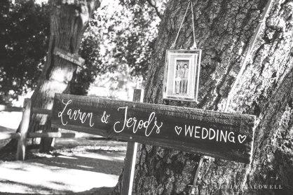 temecula creek inn wedding stone house wedding sign