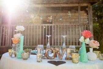 head table temecula creek inn wedding stone house bride rustic