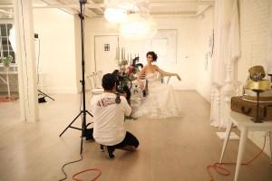 Wedding photoshoot Anaheim packing house
