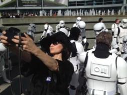 marla tourist selfie swca