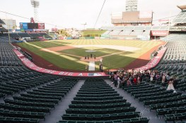 angels stadium of anaheim wedding venue 42