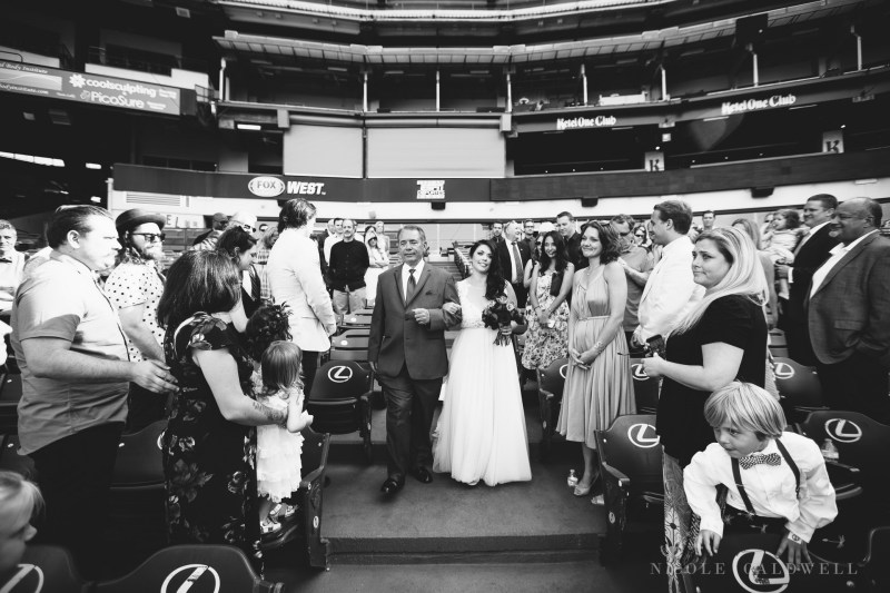 angels stadium of anaheim wedding venue 43
