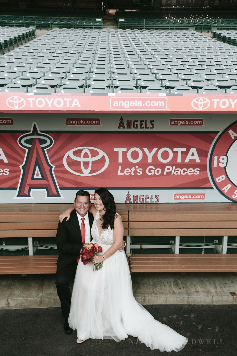 angels stadium of anaheim wedding venue 61