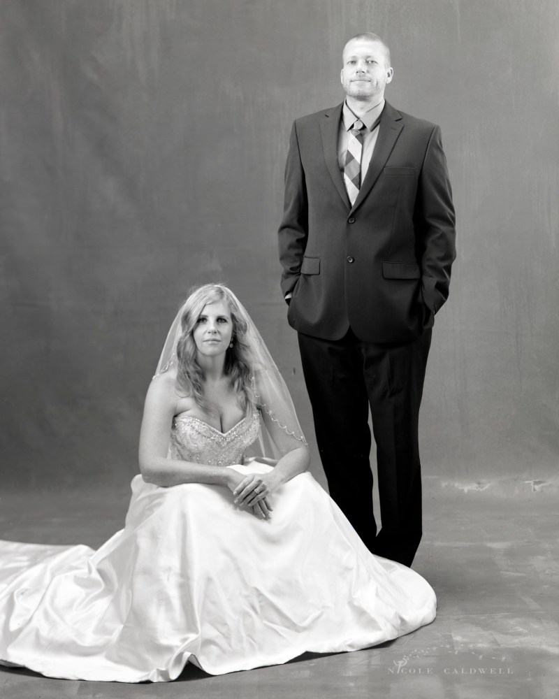 formal wedding photos in the studio by niocle caldwell 01
