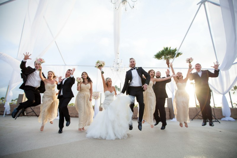 corwn palaza weddings redondo beach by nicole cadlwell