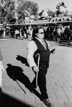 dapper day disneyland film photography black and white