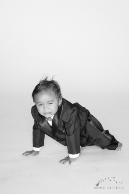 suit and tie photoshoot for kids nicol caldwell studio #05