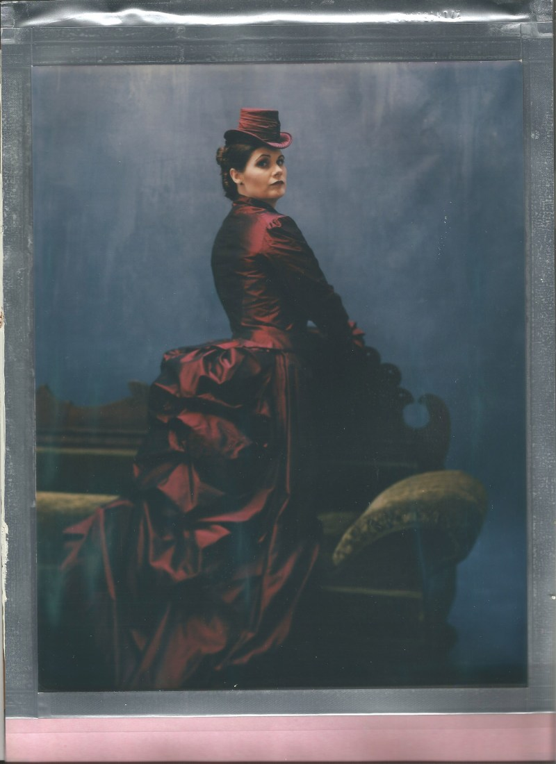 impossible project 8 x 10 color film nicole caldwell studio