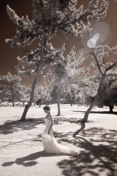 temecula creek inn wedding photographer infrared bride