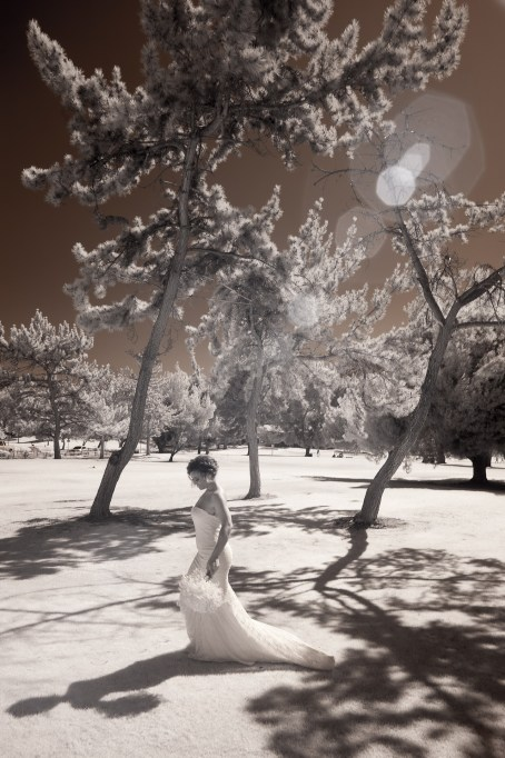 temecula creek inn wedding photographer infrared bride