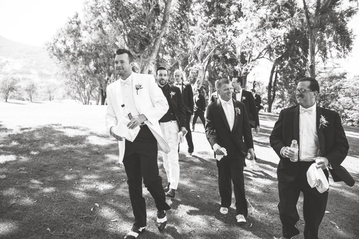 temecula creek inn wedding photographer groomsmen