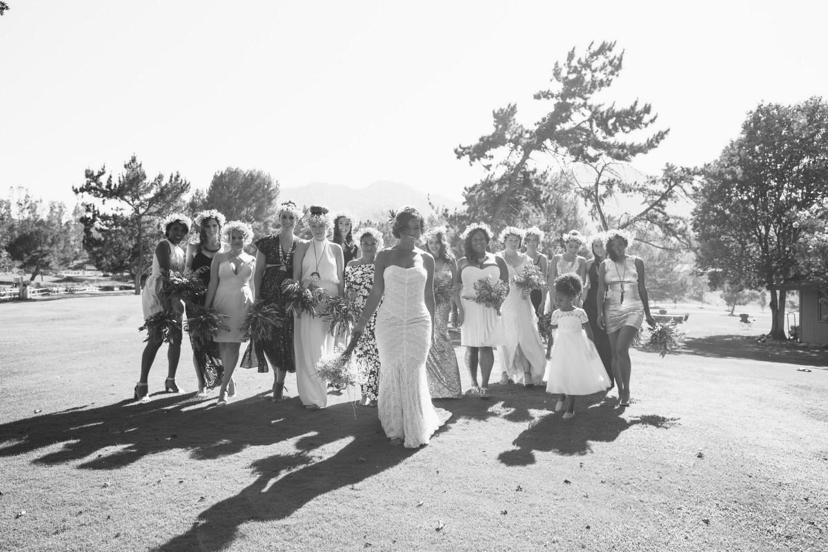 temecula creek inn wedding photographer bridal party