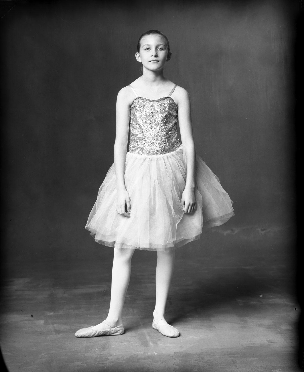 new 55 film polaroid by nicole caldwell ballet dancer