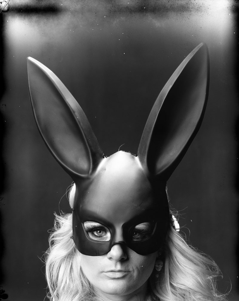 new 55 film bunny mask