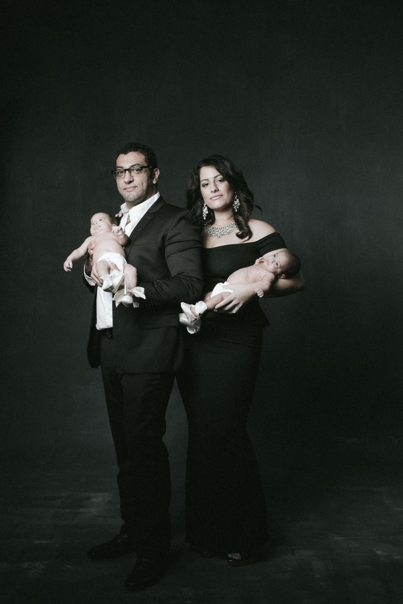 classic studio family photographs with twins nicole caldwell 01