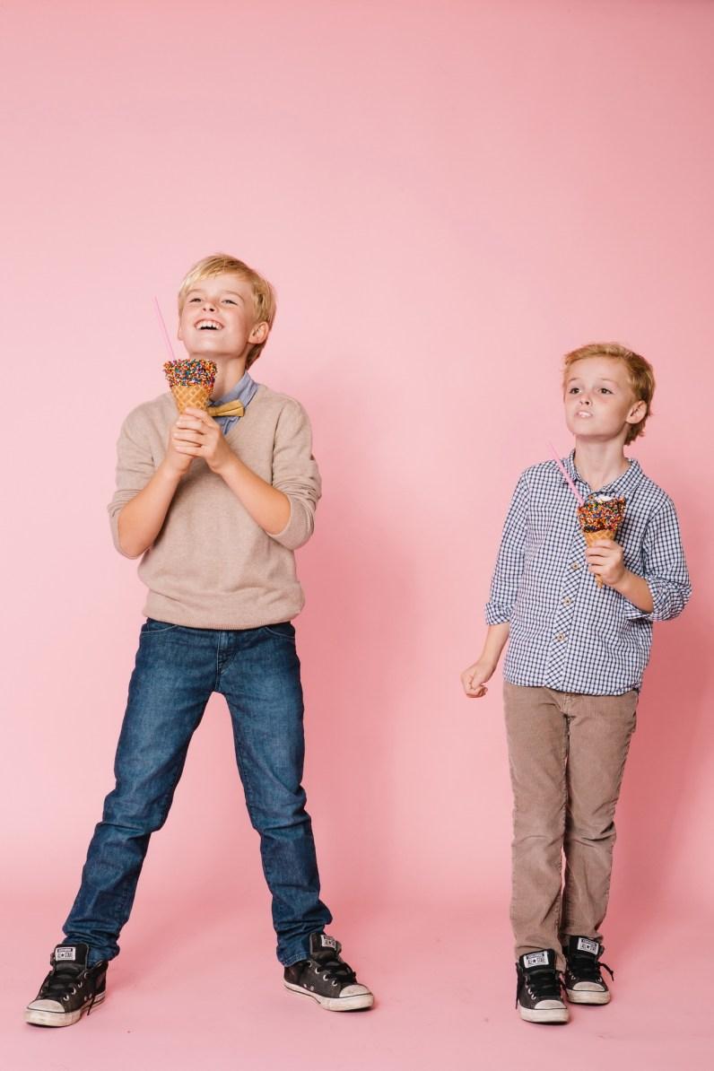 fun different family photos ice cream studio photographs nicole caldwell 02