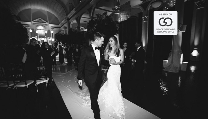 Featured in Grace Ormonde | Vibiana Wedding
