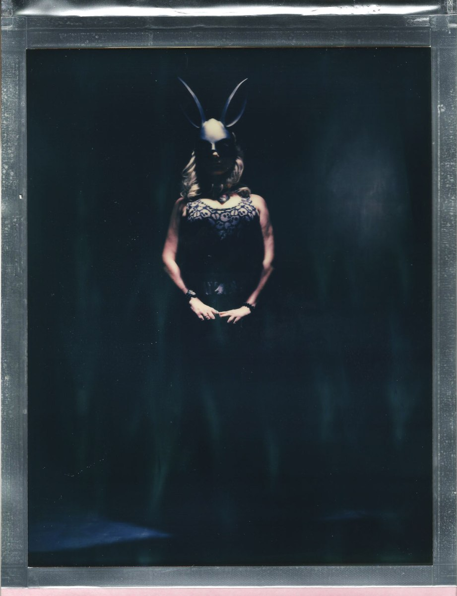 8 x 10 polaroid color impossible film nicole caldwell