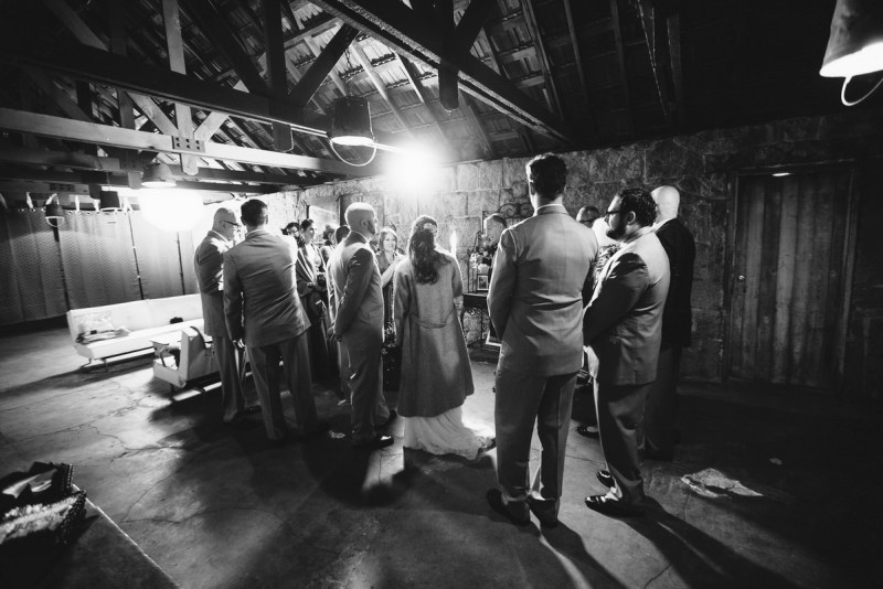 temecula creek inn weddings nightime ceremony jewish 37