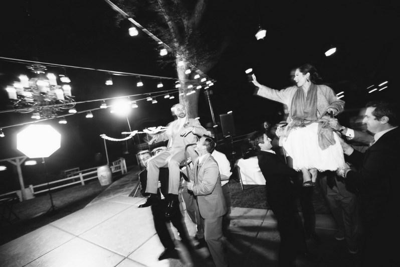 temecula creek inn weddings nightime ceremony jewish 55