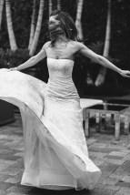 wedding vibana los angeles bride twirling