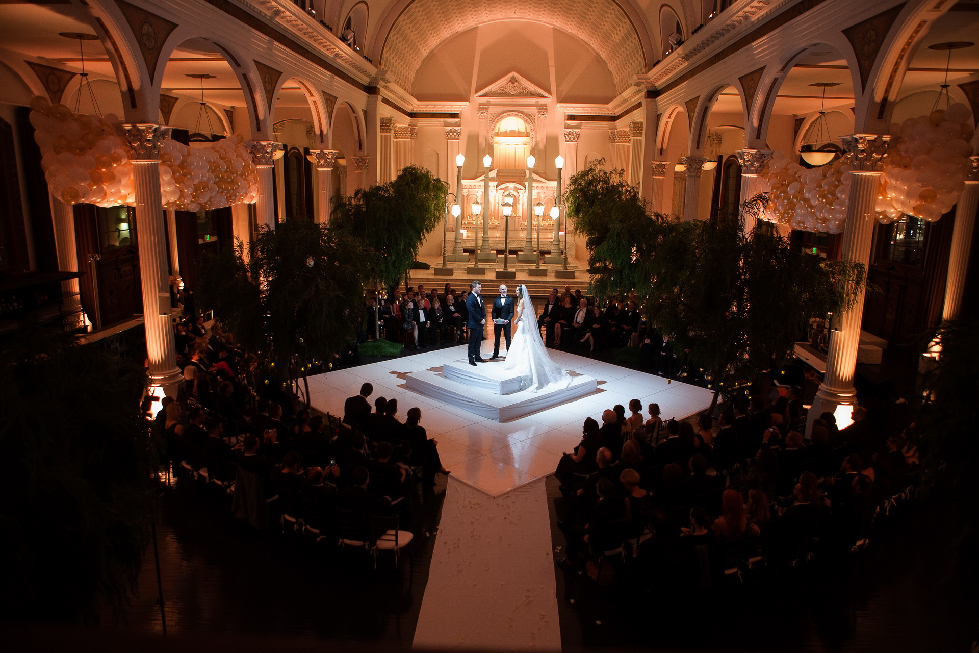 vibiana wedding ceremony los angeles