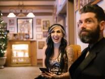 las vegas elopment photographer nicole caldwell viva las vegas weddings dracula 06