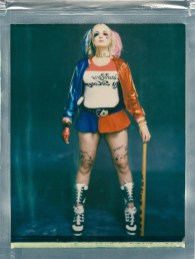 8 x 10 impossible color 8 x 10 film polaroid cosplay harley quinn