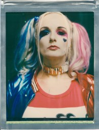 8 x 10 color polaroid impossible project cosplayer Harley Quinn