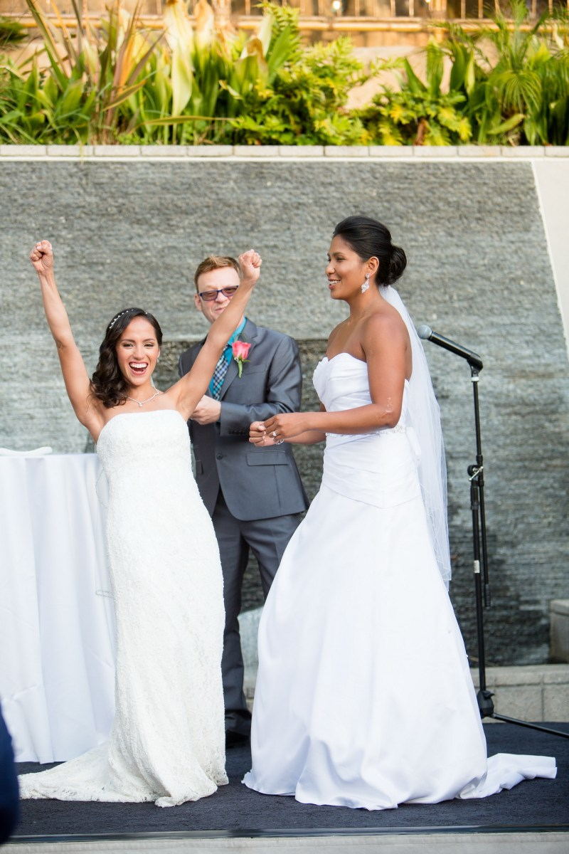 wedding ceremony seven degrees gay wedding laguna beach