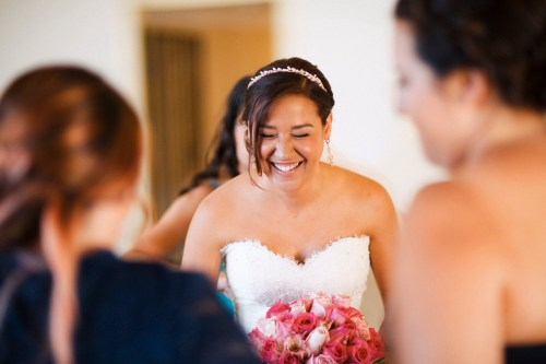 artistic temecula wedding photographer churon winery bride laughing