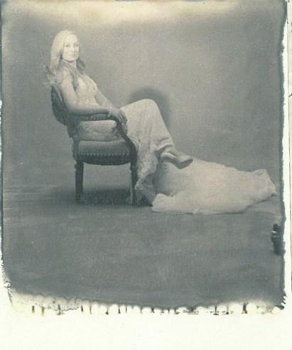 old hollywood new 55 film shoot bride portrait