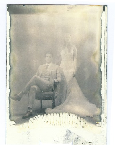 new 55 film positive print nicole caldwell bride and groom